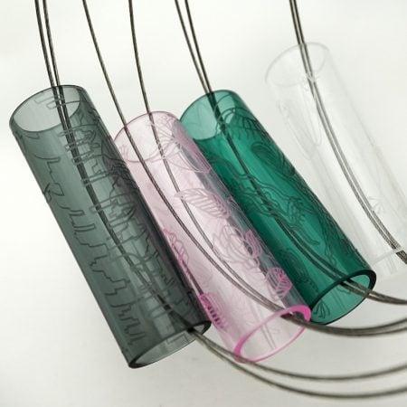 Skleněný designový náhrdelník Illustrate