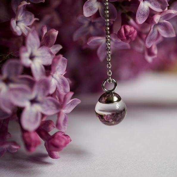 Skleněný náhrdelník Tear